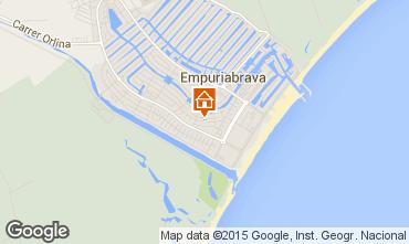 Map Empuriabrava Apartment 76763