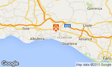 Map Vilamoura Villa 62822