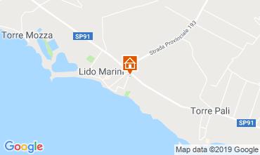 Map Lido Marini Apartment 118497