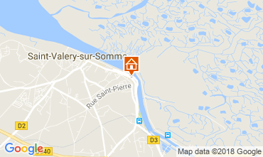 Map Saint Valéry sur Somme Self-catering property 113531