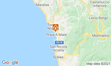 Map Praia a Mare Apartment 95625