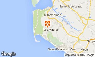 Map La Palmyre Mobile home 101256