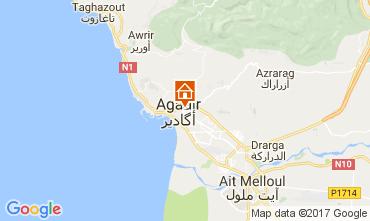Map Agadir Studio apartment 26777