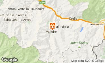 Map Valloire Apartment 87973