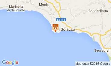 Map Sciacca Apartment 100665