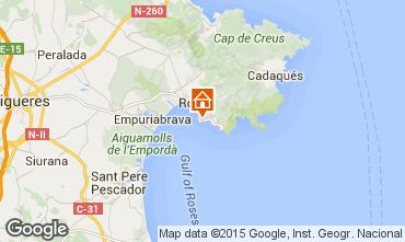 Map Rosas Apartment 27258
