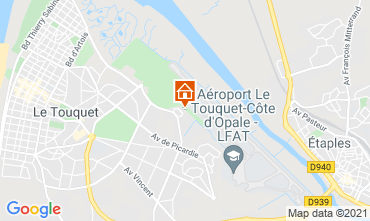 Map Le Touquet House 7747
