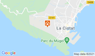 Map La Ciotat Self-catering property 113946