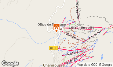 Map Chamrousse Apartment 74841