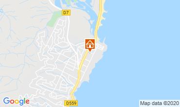 Map Fréjus Apartment 107365