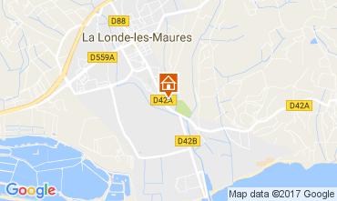 Map La Londe les Maures House 108421