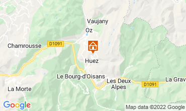 Map Alpe d'Huez Apartment 82325