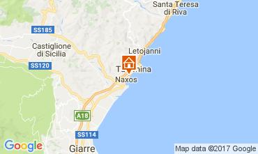Map Giardini Naxos Studio apartment 47573