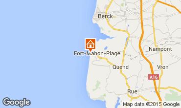 Map Fort Mahon Apartment 60660