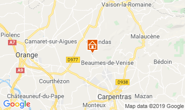 Map Vaison la Romaine Apartment 119300