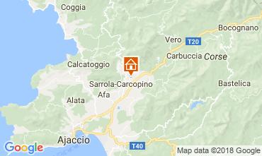 Map Ajaccio House 112239
