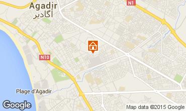Map Agadir Apartment 30413