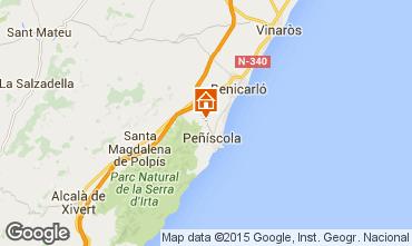 Map Peñíscola Villa 74608