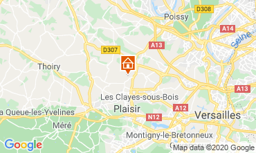Map Versailles Villa 65060