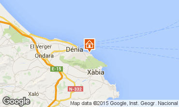 Map Denia Apartment 59995