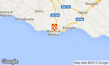 Map Marina di Modica Bungalow 64041