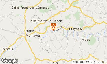 Map Mauroux House 89073