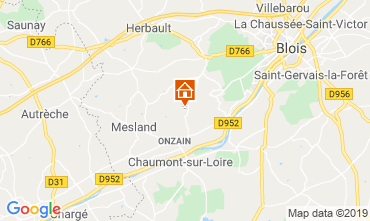 Map Blois Mobile home 117416