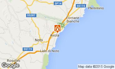 Map Avola House 78506