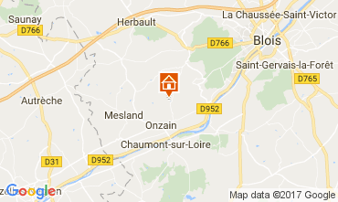 Map Blois Mobile home 102122