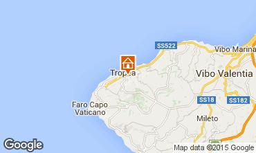 Map Tropea Studio apartment 36536