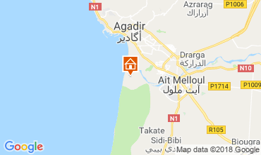 Map Agadir Offbeat accommodation 117445