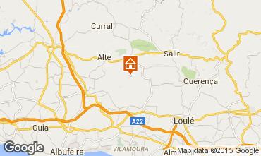 Map Loulé House 54658