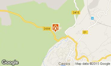 Map Cassis One-room studio flat 51162