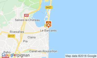 Map Le Barcares House 112837