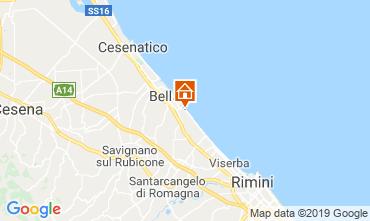 Map Bellaria Igea Marina Apartment 81806