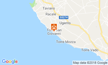 Map Ugento - Torre San Giovanni Apartment 116277