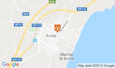 Map Avola House 118643