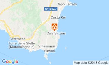 Map Villasimius House 116316