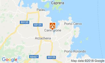 Map Arzachena Apartment 117105
