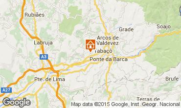 Map Arcos de Valdevez Self-catering property 72429