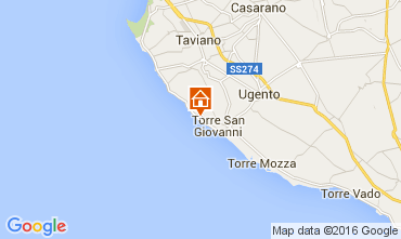 Map Ugento - Torre San Giovanni Studio apartment 105887