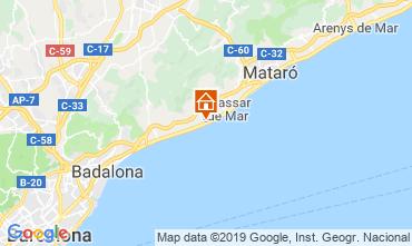 Map Barcelona Apartment 117575