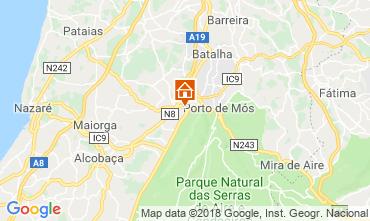 Map Porto de Mós Villa 116584