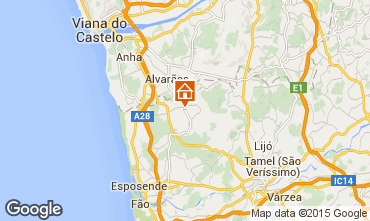 Map Barcelos Self-catering property 49359