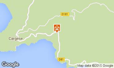 Map Cargèse Apartment 9297