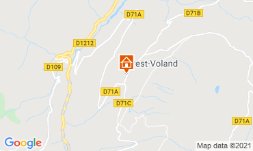 Map Crest Voland Cohennoz Apartment 61386