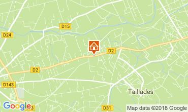 Map Isle sur la Sorgue House 114021