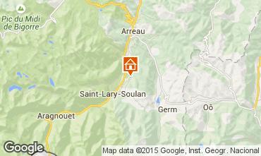 Map Saint Lary Soulan Self-catering property 80216
