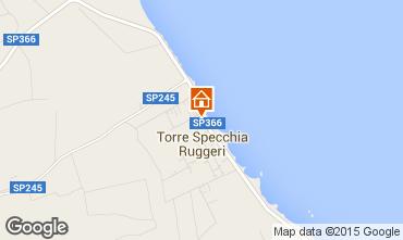 Map San Foca Villa 85195
