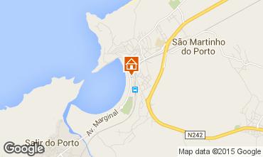 Map São Martinho do Porto Apartment 17185